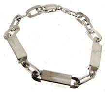 925 Silver Bracelet Chunky Link Design