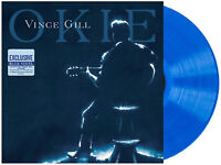 Okie Vince Gill Exclusive Limited Edition Blue Colored Vinyl LP Record