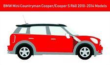 Brand New Custom BMW Mini Countryman Cooper S R60 A Panels Stickers Vinyl Decals