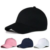 US Sale Men Women Adjustable Baseball Cap Snapback Hat Hip-Hop Sun Hat Cap NEW