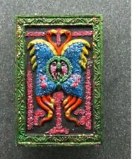 Salika Butterfly Spider Thep Jamlang LP Kruba Krissana Charm Amulet Thai Lucky