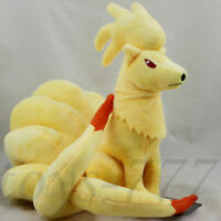 "Ninetales 9"" Plush Toy Stuffed Animal Cartoon Halloween Anime Fox Teddy Doll"