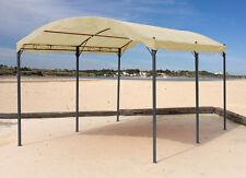 Bogenpergola 3x4 m Sand NEU & OVP