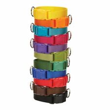 Casual Canine - Nylon Dog Collar - Quick Release Buckle 11 Colors - Xs S M L