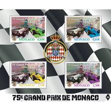 monaco 2017 france Grand Prix formula 1 cars sport wagen coches auto ms 4v mnh