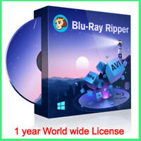 DVDFab Blu-ray Ripper audio and video editor converter - 1 year license -Sale
