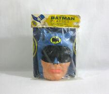 1965 Vintage DC Comics ✧ BATMAN ✧ Official Playset Outfit UNUSED SEALED RARE SL1