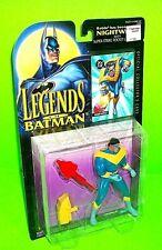 "Legends of Batman NIGHWING ""Robin"" Action Figure w Trading Card Rocket Launcher"