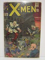 X-Men #11 Silver Age Comic Books! Marvel 1965 GD-