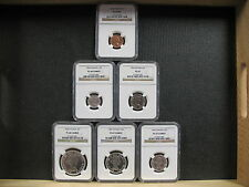 1964 CANADIAN COMM. SET - NGC GRADED SPECIMENS - FREE SHIPPING!!!