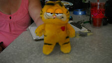 Mini Garfield Plush Toy w/2 suction cups