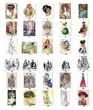 30 Personalized Return Address labels Victorian Era Buy 3 get 1 free (VE1)