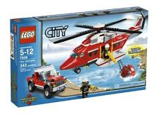 7206 FIRE HELICOPTER city town lego NEW sealed