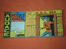 PICCOLO RANGER 4°SERIE IV°-N°22 DEL 1961- STRISCIA -COLLANA AUDACE-araldo +altre