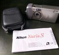 Nikon Nuvis S APS Compact Film Camera, Fully working with zip padded case