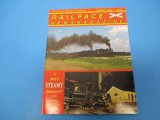 Railpace News Magazine August 2002 Quebec Ore Lines Blue Mac Surprise  M1512