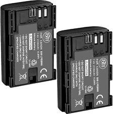 BM Premium 2 LP-E6NH High Capacity Batteries for Canon EOS R, EOS R5, EOS R6