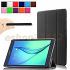 Tri-fold PU Leather Shell Case Slim Cover For Samsung Galaxy Tab Tablet