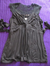 Brand New With Tags Smart black top size 18 pretty cut out back detail formal