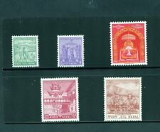 NEPAL 1956 CORONATION SCOTT#84/88 MINT NEVER HINGED