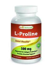 Best Naturals L-proline Amino Acid Dietary Supplement 500 Mg, 120 Count
