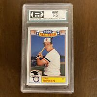 Cal Ripken SS 1986 All Star Topps Graded 9.0 Card 16 of 22 1987 Premier 20357