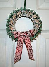 Holly Guirnalda Navidad Torchon patrón de encaje de bolillos patrón de encaje de bolillos * SOLAMENTE *
