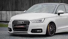 Cup Spoilerlippe für Audi A1 8X Sportback ab Bj. 2014 Front Schwert Splitter IN