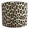 Leopard Print Lampshades, Ideal To Match Leopard Print Wallpaper & Duvet Covers.