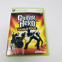 Guitar Hero World Tour - Microsoft Xbox 360 - Game Only - Tested - Free Shipping