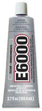 E6000 INDUSTRIAL STRENGTH CLEAR GLUE CRAFT ADHESIVE 3.7 OZ TUBE