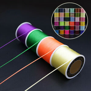 Multi-colours Waxed Nylon Cord String Thread Rope Jewelry Making Craft Jewelry
