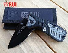Navaja Tactica RUI Hoja 6,5 cm Knife Messer Coltello Couteau