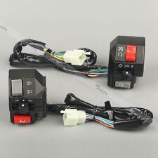 "Motorcycle 7/8"" Handlebar Control Headlight Electrical Start Switch For Yamaha"