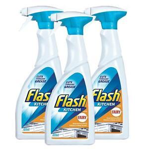 Flash Kitchen Spray 450ml (Pack of 3) Mrs Hinch Home Clean