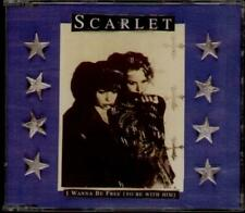 SCARLET I Wanna Be Free  CD 3 Tracks Inc So Big+Independent Love Song-Acoustic