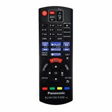Genuine Panasonic DMP-BDT460EB Blu-ray Player Remote Control