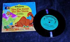 1968 Walt Disney Record & Book Set – How The Camel Got His Hump