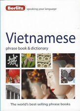 Berlitz Vietnamese Phrase Book & Dictionary *FREE SHIPPING - NEW*