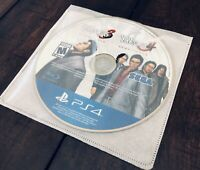 Yakuza 3 and 4 Remastered Collection PS4 Playstation 4 Game DISC ONLY US Version