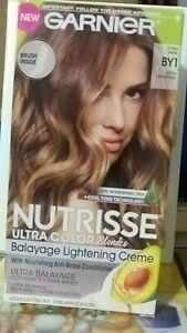 Garnier Nutrisse Balayage Lightening Creme #BY1 ICING SWIRL Ultra Color Blondes