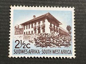 South-West Africa, 1966 House, Windhoek 2½ c. MNH Scott: NA-SW 306 Superb RSA Wm