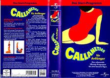 """VHS - """" CALLANETICS für Anfänger - Das Start-Programm """""""