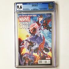 POINT ONE #1 CGC 9.6 NM+ 1st App SAM ALEXANDER as NOVA 2012 Marvel Comics 🔥🔑
