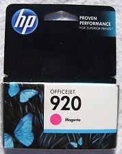 Genuine HP 920 CH635AN Magenta Ink Cartridge 01/2015