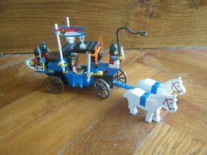 Lego chevaliers 6044 CASTLE KING's CARRIAGE ROYAL KNIGHTS AVEC NOTICE!!