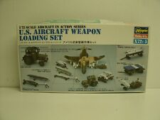 New ListingHasegawa 1/72 Scale Us Aircraft Weapons Loading set