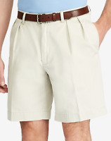 Polo Ralph Lauren Chino Shorts Classic Fit Colour Classic Stone Pleated 34""