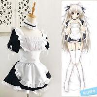 Classic Lolita Maid Uniform Dress Sissy Maid Cosplay Costume Halloween Kostüme