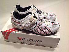 Vittoria Hora Road Cycling Shoe 41 Eu 8.5 US micrometric cable closure white